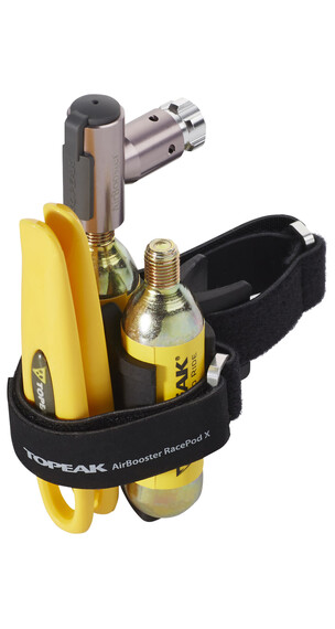 Topeak Air Booster Race Pod X  CO2 pomp geel
